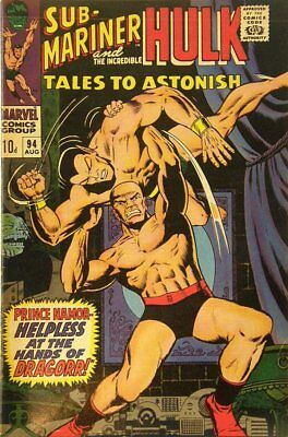 Tales to Astonish (Vol 1) #  94 (FN+) (Fne Plus+) Price VARIANT Marvel Comics OR