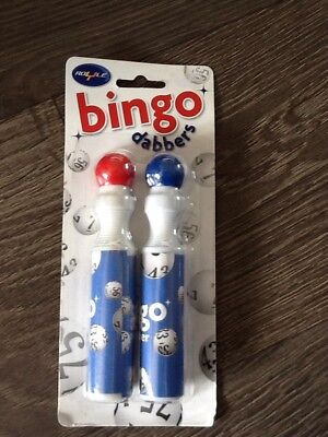 Bingo Dabblers Pack Of Two In Blue And Red