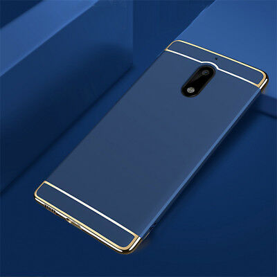 New Luxury Slim Electroplate Shockproof Hard PC Back Case Skin Cover For Nokia 6