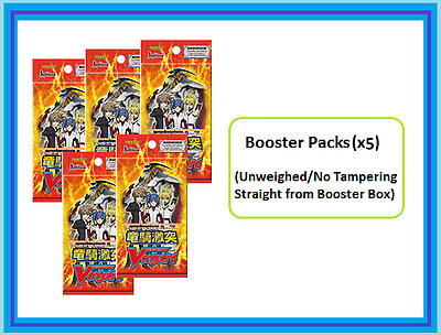 Cardfight!! Vanguard Clash of Knights & Dragons Booster pack (x5) (VGE-BT09) ENG