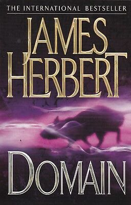 Domain By James Herbert, Paperback, New Book