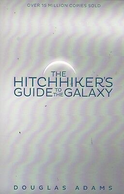 The Hitchhiker's Guide To The Galaxy By Douglas Adams, Paperback, New Book