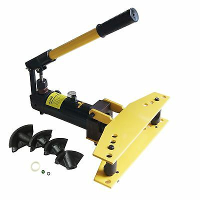 "KATSU Heavy Duty Hydraulic Pipe Bender 1/4"" - 1"" 13mm to 34mm Free UK P&P"