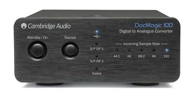 Cambridge Audio DacMagic 100 schwarz Digital Analog Wandler Converter