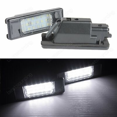 Feux Eclairage de Plaque LED Blanc Citroën Berlingo C2 C3 C4 C5 C6 C8 DS3 Jumpy