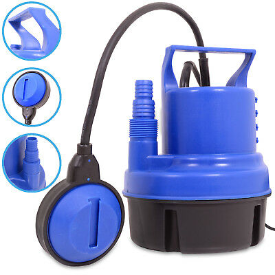 200w 230v SUBMERSIBLE AUTOMATIC ELECTRIC CLEAN POND OUTDOOR GARDEN WATER PUMP