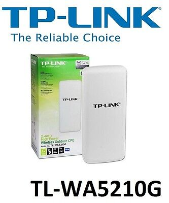 TP-Link TL-WA5210G High Power Outdoor Wireless Access Point Bridge Network WiFi