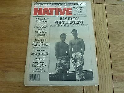 1985 Issue 116 New York Native Gay Newspaper Original Complete