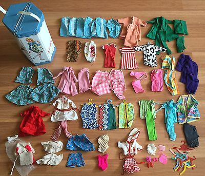 Old Vtg Barbie Doll Clothes Accessory Dress Outfit Spp Mattel Francie Case Lot
