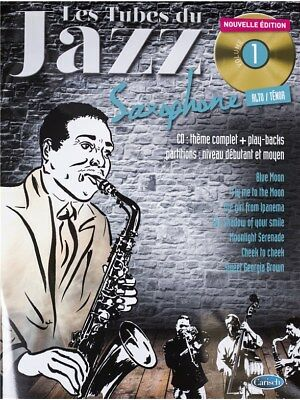 Tubes Du Jazz Saxophone: Volume 1 (Book/CD). Sheet Music, CD
