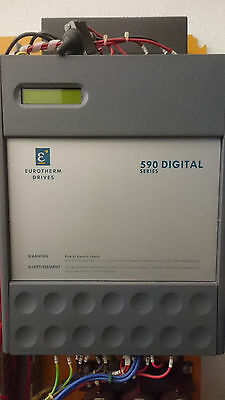 Eurotherm Drives 590 Digital Series 590C/1100/6 Industrial Automation Drive 415v