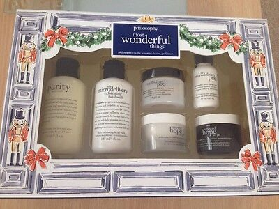 Philosophy 'Most Wonderful Things' Gift Set Incl Microdelivery Peel