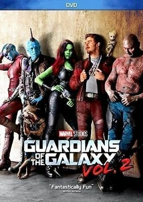 BRAND NEW-Guardians of the Galaxy Vol. 2 ( DVD 2017 ) Action NOW SHIPPING SEALED