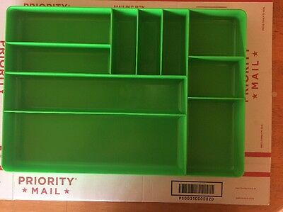 New Snap On Green High Impact Drawer Organizer