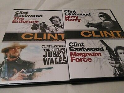 The Enforcer / The Outlaw Josey Wales Official UK Region 2 DVD - Clint Eastwood