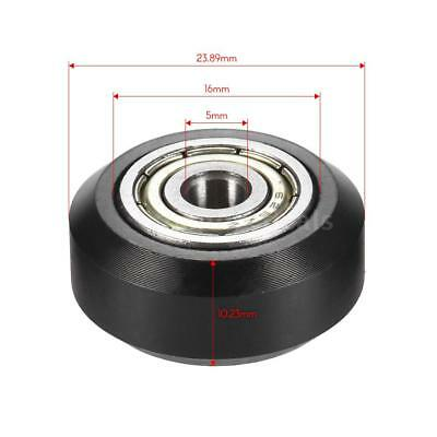 Big Model Passive Round Wheel Pulley+Bearing 10.23mm Thickness f/3D Printer C1S5