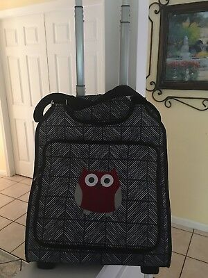 THIRTYONE Thirty One 31 Gifts Away We Go Roller Chevron Square W/owl