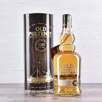 1989 Old Pulteney 26 Year Old Single Malt Scotch *Worlds Best Whisky 2016 by WWA