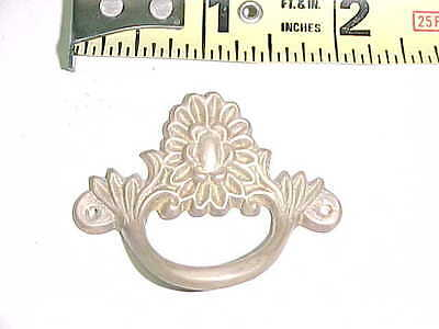 Solid Cast Brass Fancy Victorian Style Drawer Or Door Pull Handle