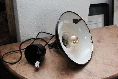 Lampara industrial vintage (original) Vintage industrial lamp