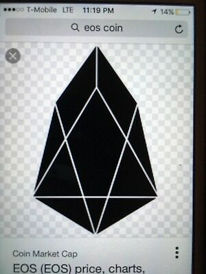 EOS Coin cryptocurrency