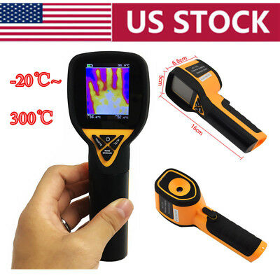 Handheld Thermal Imaging Camera Infrared Thermometer 32×32 Gun -20℃ to 300℃