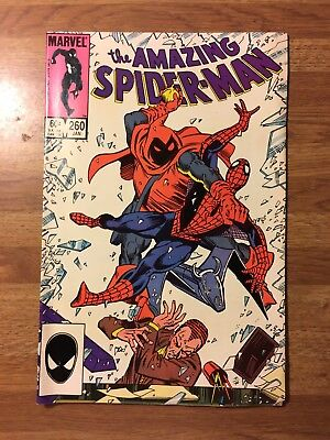 Amazing Spider Man #260 (1963 Vol 1) Marvel Comics - Hobgoblin App - Key Issue
