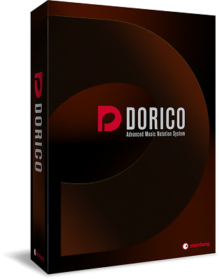 Steinberg Dorico Scoring Software Retail Edition