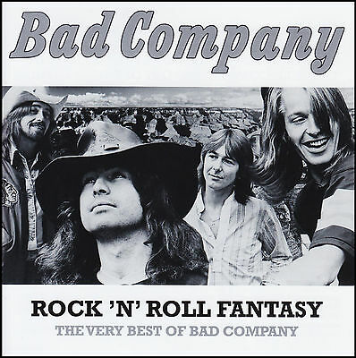 BAD COMPANY - VERY BEST OF : ROCK N ROLL FANTASY CD ~ PAUL RODGERS 70's *NEW*
