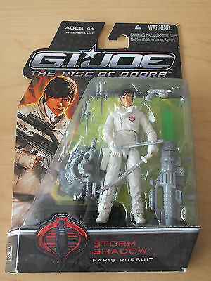 GI Joe ROC Rise of Cobra Storm Shadow Paris Pursuit MOC MOSC OVP