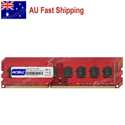 AU 32GB KIT 4x8GB PC3-12800 DDR3 1600MHz DIMM Memory For AMD CPU Motherboard