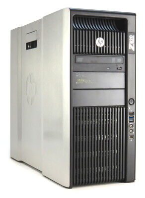HP Z820 Xeon Quad Core E5-2643 @ 3,3GHz 32GB 300GB SAS DVD±RW Quadro K2000/2GB