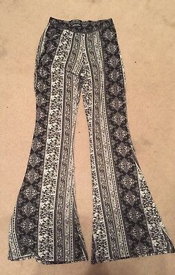 Thai Women Men Comfy Loose Boho Harem Elephant Print Jogger Yoga Long Pants