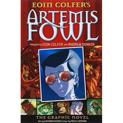 Artemis Fowl The Graphic Novel Book By Eoin Colfer Andrew Donkin 2007 Paperback