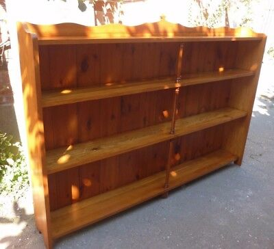 Large Solid Pine Bookcase/ Shelving Unit (22J)