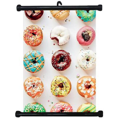 sp217086 Donuts Wall Scroll Poster For Bakery Shop Decor Display