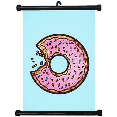 sp217087 Donuts Wall Scroll Poster For Bakery Shop Decor Display