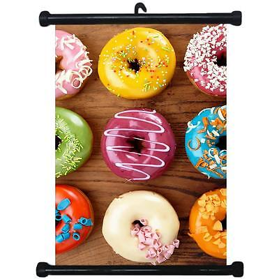 sp217093 Donuts Wall Scroll Poster For Bakery Shop Decor Display