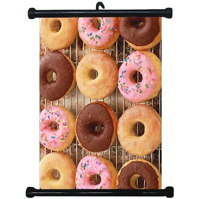 sp217095 Donuts Wall Scroll Poster For Bakery Shop Decor Display
