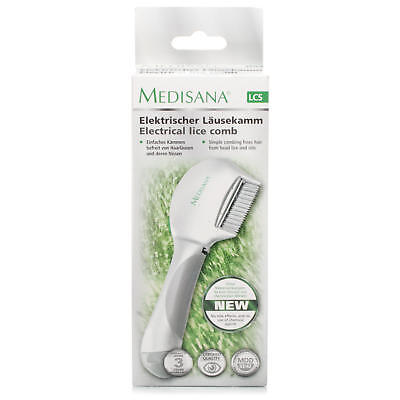 Medisana Kids Electrical Comb Kills Hair Lice Child Head Nits Suitable For Pets