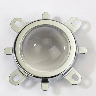44mm Lens 50mm Reflector Collimator Base Housing Fixed Bracket For 10W-100W LED