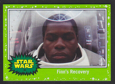 Topps Star Wars - Journey To The Last Jedi - Green Parallel Card # 96