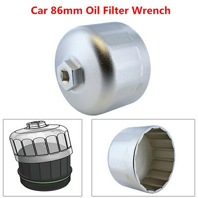 86mm Oil Filter For BMW Volvo Wrench Filter Housing Caps Remover Tool Trig