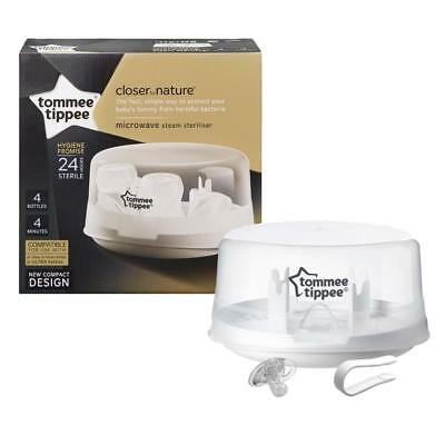 NEW! Tommee Tippee Closer to Nature Microwave Steriliser- FREE DELIVERY!
