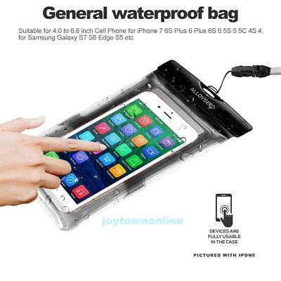 ALLOYSEED Waterproof Cases Waterproof Pouch Dry bag for Mobile Phone Large Size