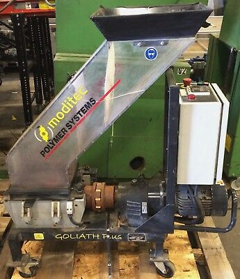 3 HP *MODITEC* Goliath G Plus 2 Low-Speed Granulator  (grinder, shredder)