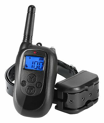 ALTMAN Dog Shock Collar 1000ft Remote Training, Rechargeable and IPX 7 with for