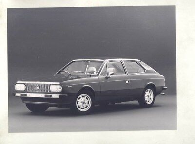 1974 ? Lancia Beta HPE ORIGINAL Factory Photograph wy4857