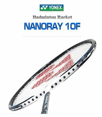 Yonex NANORAY 10F NEW Badminton Racket 2017 Racquet Blue 4U/G5 Pre-strung