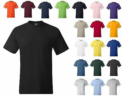 HANES BEEFY T TSHIRT WITH POCKET 12 COLORS BUY 3 GET free richardson 112 hat
